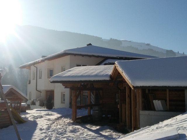 Appartmenthaus Gruber in Leogang im Winter